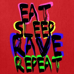 Rave Repeat T-Shirts - Tote Bag