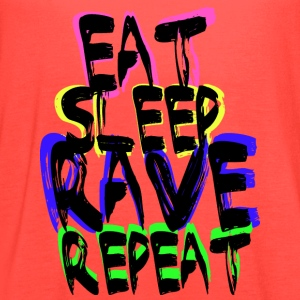 Rave Repeat T-Shirts - Women's Flowy Tank Top by Bella
