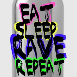 Rave Repeat T-Shirts - Water Bottle