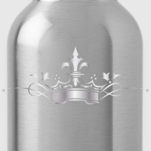 silver crown - Water Bottle