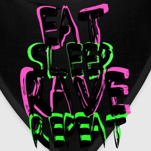 Rave Repeat T-Shirts - Bandana