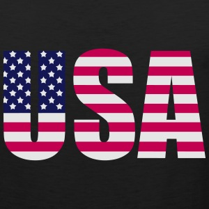 usa T-Shirts - Men's Premium Tank