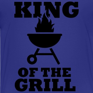 King of the Grill Kids' Shirts - Toddler Premium T-Shirt