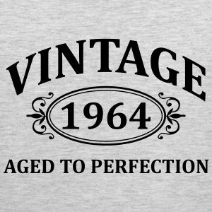 vintage 1956 aged to perfection T-Shirts - Men's Premium Tank