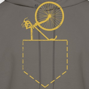 Bicycle Spare Bike In Pocket - Men's Hoodie