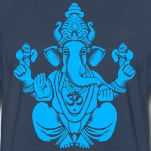 Blue Ganesh T-Shirts - Men's Premium Long Sleeve T-Shirt