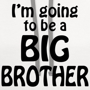 i am going to be a big brother Baby & Toddler Shirts - Contrast Hoodie