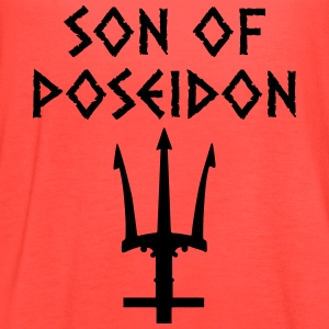 son of poseidon T-Shirts - Women's Flowy Tank Top by Bella