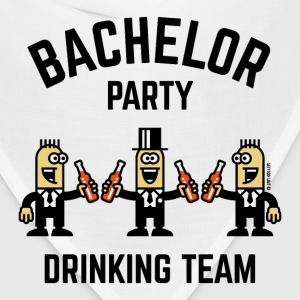 Bachelor Party Drinking Team (PNG / 4C) T-Shirts - Bandana