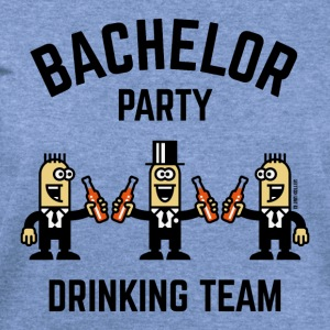 Bachelor Party Drinking Team (PNG / 4C) T-Shirts - Women's Wideneck Sweatshirt