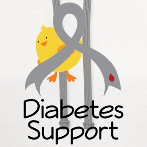 Diabetes Support Chick Baby & Toddler Shirts - Contrast Hoodie