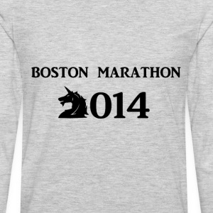 Boston Marathone 2014 T-Shirts - Men's Premium Long Sleeve T-Shirt