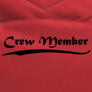 crew member T-Shirts - Computer Backpack