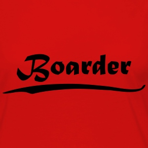 Boarder T-Shirts - Women's Premium Long Sleeve T-Shirt
