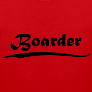 Boarder T-Shirts - Men's Premium Tank