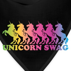 Unicorn Swag Rainbow (Color) T-Shirts - Bandana