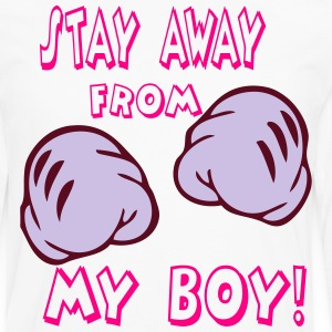 stay away from my girl T-Shirts - Men's Premium Long Sleeve T-Shirt