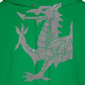 Grey Cymru Dragon T-Shirts - Men's Hoodie