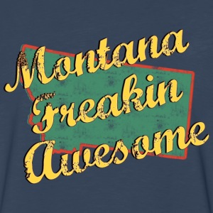 Montana Freaking Awesome - Men's Premium Long Sleeve T-Shirt