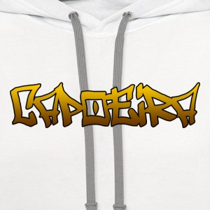 Capoeira T-Shirts - Contrast Hoodie