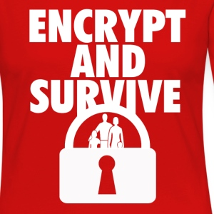 Encrypt and Survive - Women's Premium Long Sleeve T-Shirt