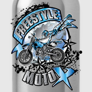 Freestyle Motocross Shirt Kids' Shirts - Water Bottle