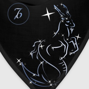 Capricorn zodiac sign - Bandana