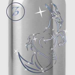 Capricorn zodiac sign - Water Bottle