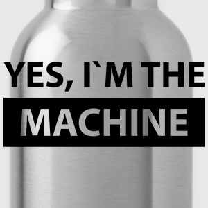 yes i´m the machine T-Shirts - Water Bottle