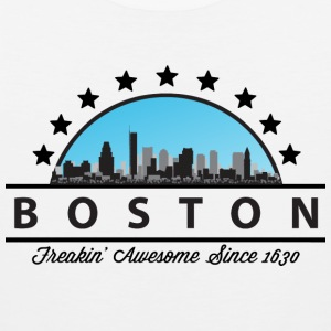 Boston Massachusetts Freakin Awesome Since 1630 - Men's Premium Tank