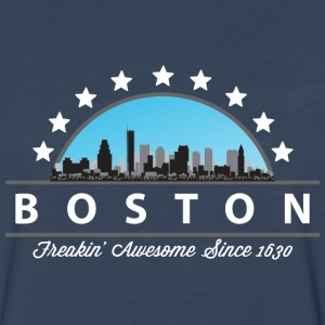 Boston Massachusetts Freaking Awesome Since 1630 - Men's Premium Long Sleeve T-Shirt