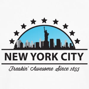 New York City New York Freaking Awesome Since 1655 - Men's Premium Long Sleeve T-Shirt