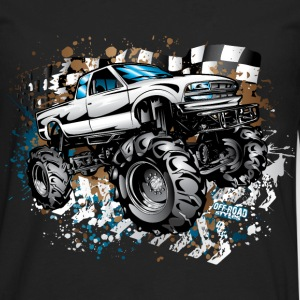 Mud Truck Race Shirt T-Shirts - Men's Premium Long Sleeve T-Shirt