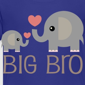 Big Bro Elephants Kids' Shirts - Toddler Premium T-Shirt