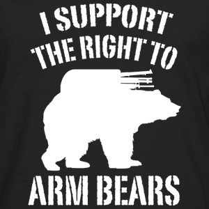 I Support The Right To Arm Bears - Men's Premium Long Sleeve T-Shirt