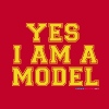 Yes I Am A Model - Men's Premium T-Shirt