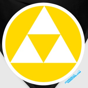 Triforce Gamer Circle - Bandana