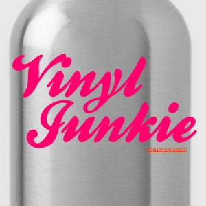 Vinyl Junkie DJ - Water Bottle