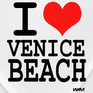 Heather grey i love venice beach by wam T-Shirts - Bandana