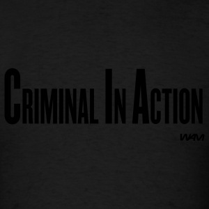 Black cia by wam T-Shirts - Men's T-Shirt