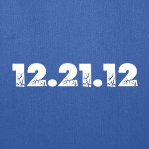 Navy 12.21.12 2012 The End of the World? T-Shirts - Tote Bag