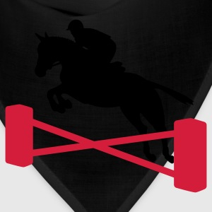 Black showjumping T-Shirts - Bandana