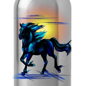 Black Horse - Water Bottle