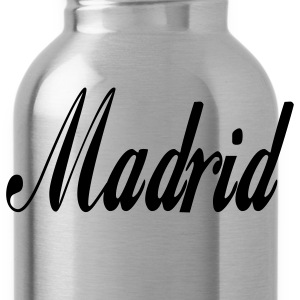 Navy madrid T-Shirts - Water Bottle