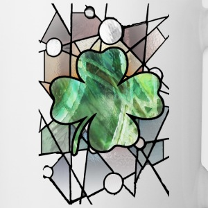 Shamrock Stained Glass - Coffee/Tea Mug