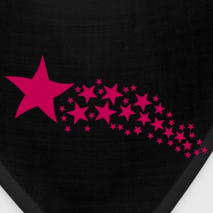 Black Shooting Star T-Shirts - Bandana