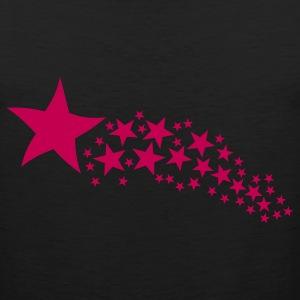 Black Shooting Star T-Shirts - Men's Premium Tank