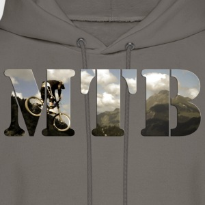 Mountain Bike Shirt - Men's Hoodie