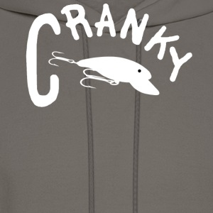 Chocolate CRANKY T-Shirts - Men's Hoodie