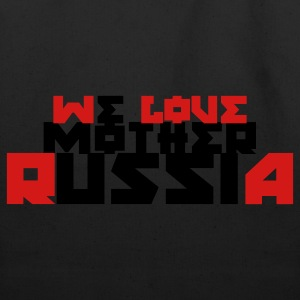 Purple we love mother Russia T-Shirts - Eco-Friendly Cotton Tote